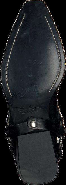 Zwarte OMODAXMANON Enkellaarsjes ABB2869  - large