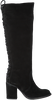 Zwarte OMODA Lange laarzen P12778  - small