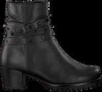 Zwarte GABOR Enkellaarsjes 653 - medium