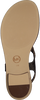 Gouden MICHAEL KORS Sandalen MK PLATE THONG - small