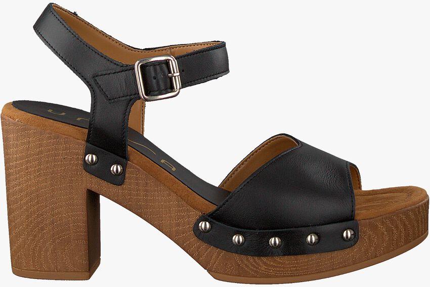 Zwarte UNISA Sandalen TACO  - larger