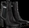 Zwarte TOMMY HILFIGER Chelsea boots SOCK MID HEEL CHELSEA BOOT - small
