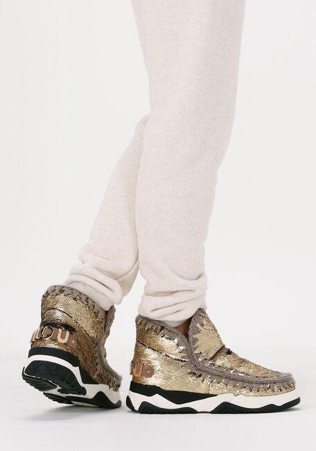 Gouden MOU Hoge sneaker ESKIMO TRAINER  - large