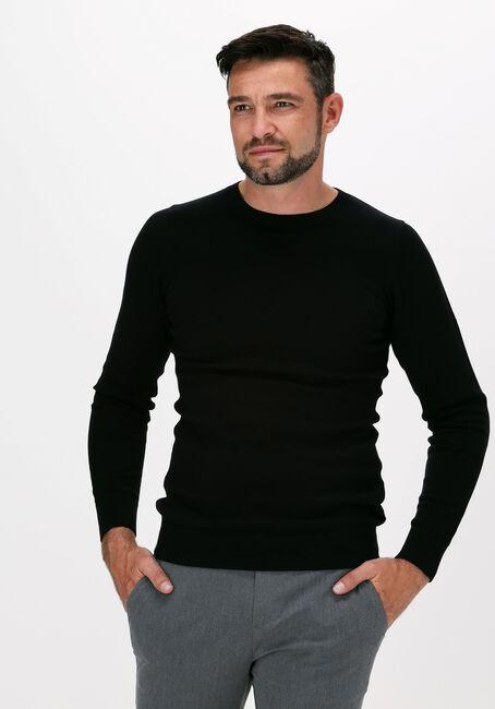 Zwarte SAINT STEVE Trui BART ROUNDNECK  - large