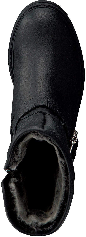 Zwarte PANAMA JACK Biker boots SINGAPUR B22