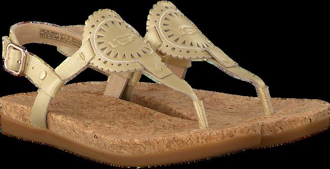 gouden UGG Slippers AYDEN II METALLIC  - large