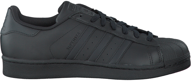 Zwarte ADIDAS Sneakers SUPERSTAR HEREN  - large