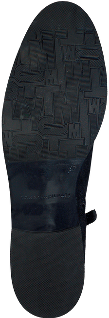 Blauwe TOMMY HILFIGER Enkellaarsjes T1285ESSA 1B  - large