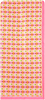 Roze ROMANO SHAWLS AMSTERDAM Sjaal 85611  - small
