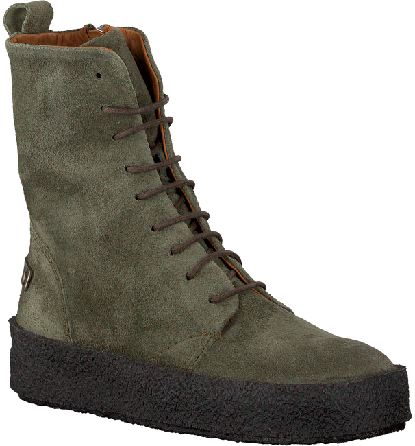 Groene SHABBIES Veterboots 184020014 - large