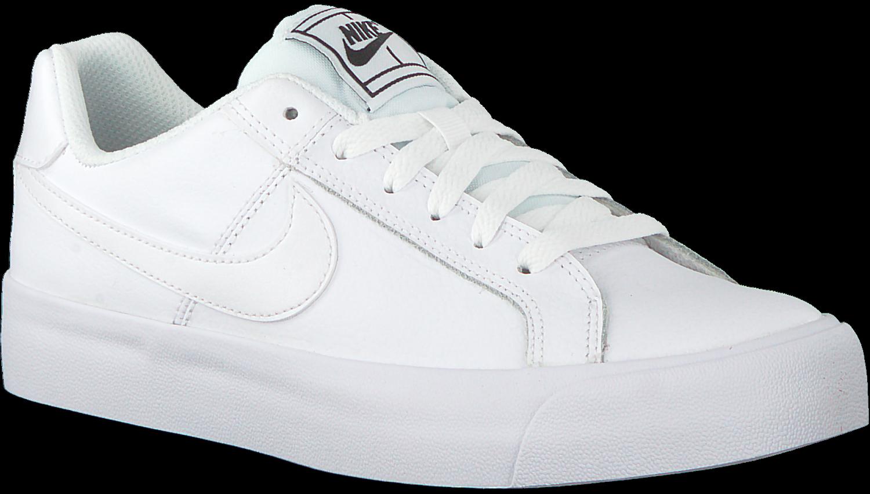 Witte NIKE Sneakers COURT ROYALE PLATFORM - Omoda