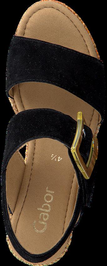 Zwarte GABOR Sandalen 795.1  - larger