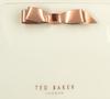 Witte TED BAKER Toilettas CAFFARA  - small