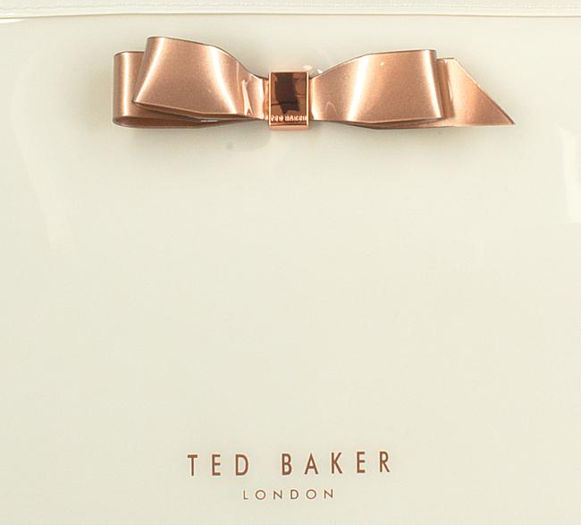 Witte TED BAKER Toilettas CAFFARA  - large