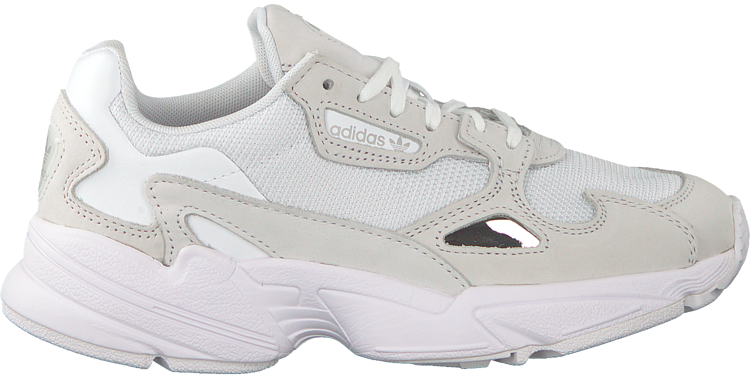 a83a8beaa00 Witte ADIDAS Sneakers FALCON WMN - large. Next