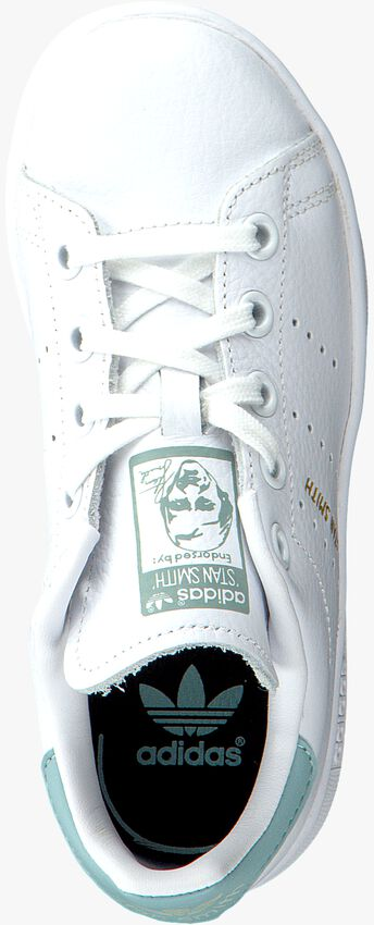 Witte ADIDAS Sneakers STAN SMITH KIDS  - larger