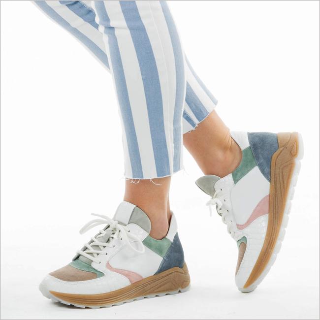 Blauwe VIA VAI Sneakers SWAMI  - large