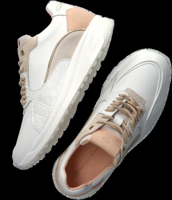Witte FRED DE LA BRETONIERE Lage sneakers 101010219  - large