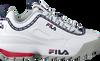 Witte FILA Lage sneakers DISRUPTOR KIDS  - small