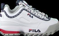 Witte FILA Lage sneakers DISRUPTOR KIDS  - medium
