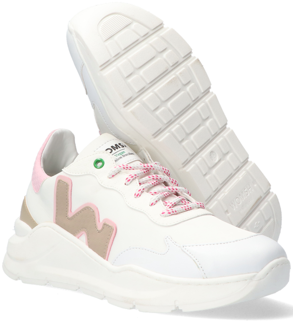 Witte WOMSH Lage sneakers VEGAN WAVE WHITE SNOOPY  - large