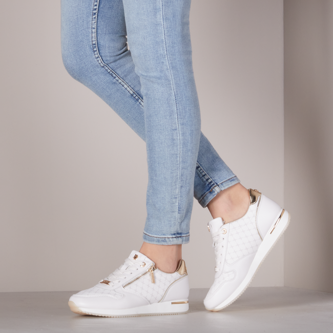 Witte MEXX Lage sneakers DJANA  - large