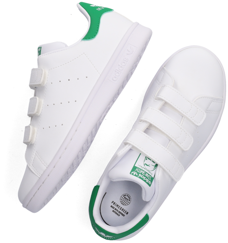 Witte ADIDAS Lage sneakers STAN SMITH CF C  - larger