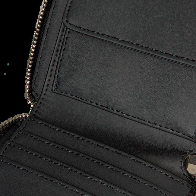 Zwarte GUESS Portemonnee DAYANE SLG SMALL ZIP AROUND - large