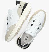 Witte D.A.T.E Lage sneakers LUNA  - medium