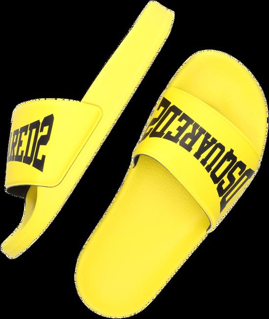 Gele DSQUARED2 Slippers DSQUARED2 KID SLIDE  - large