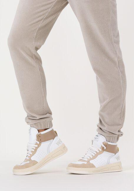 Witte WOMSH Hoge sneaker SUPER  - large
