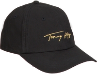 Zwarte TOMMY HILFIGER Pet SIGNATURE CAP  - medium