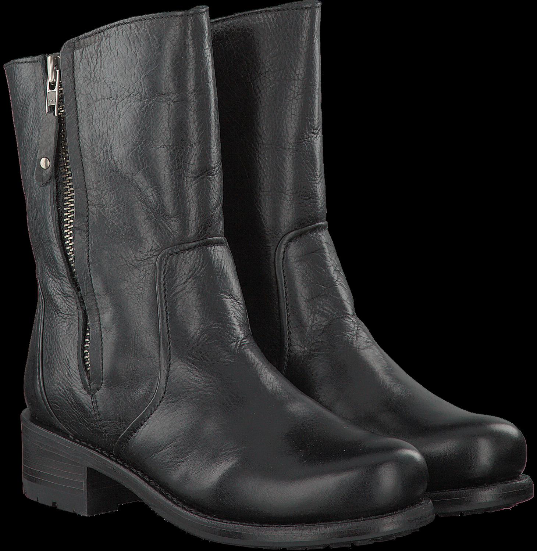 Zwarte BLACKSTONE Lange laarzen KL88 | Omoda
