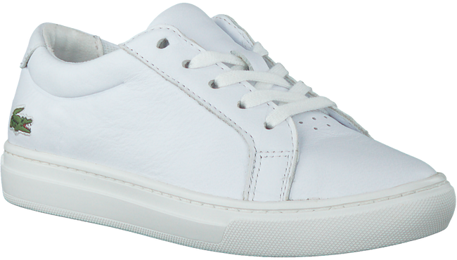 Witte LACOSTE Sneakers L.12.12 - large