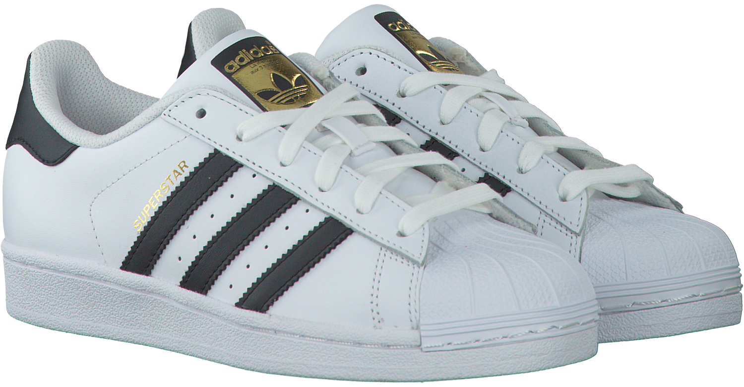 Witte ADIDAS Sneakers SUPERSTAR DAMES | Omoda