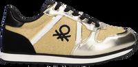 Gouden BENETTON Lage sneakers QUARREL MIX  - medium