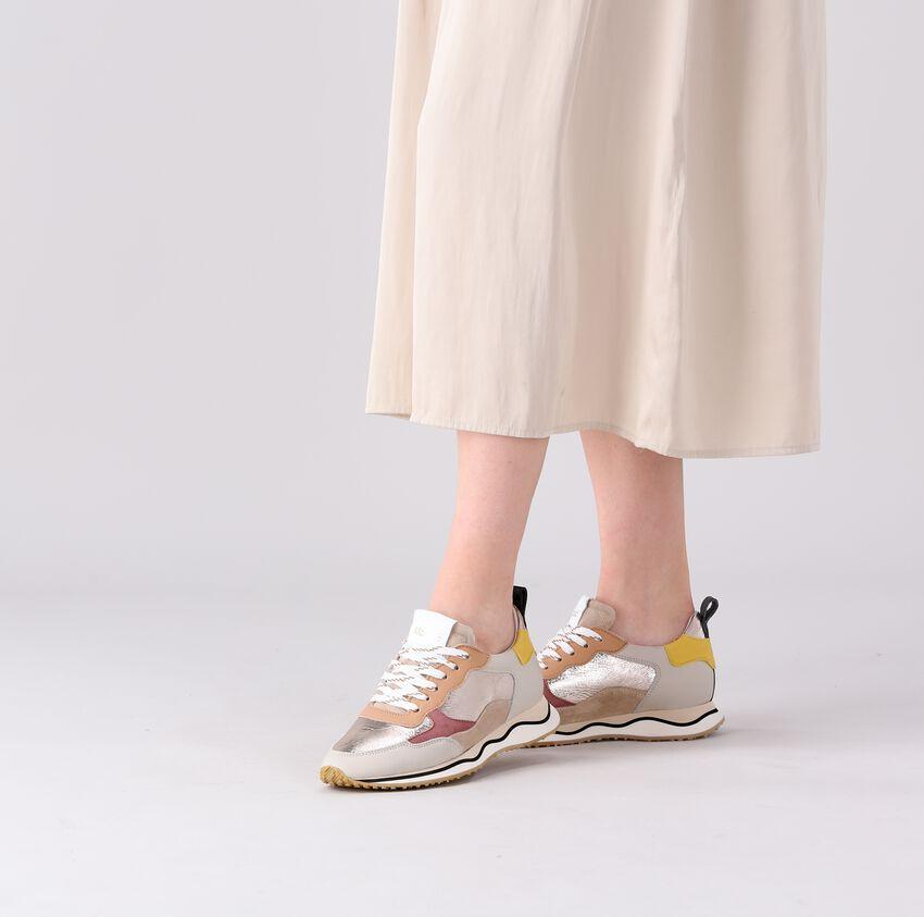 Beige MARIPE Lage sneakers OLIVIA  - larger