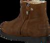 Bruine SHABBIES Enkelboots 0141  - small