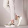 Beige WOMSH Lage sneakers WAVE MEN - small