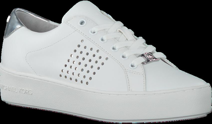 Zilveren MICHAEL KORS Sneakers POPPY LACE UP - larger