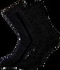 Zwarte MARCMARCS Sokken ERICA COTTON 2-PACK - small