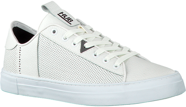 Witte HUB Sneakers HOOK-M - large