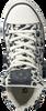 Witte BRAQEEZ Sneakers PRINT BLACK/WHITE  - small