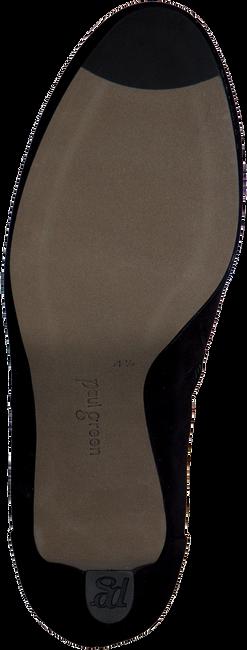 Zwarte PAUL GREEN Enkellaarsjes 8996  - large