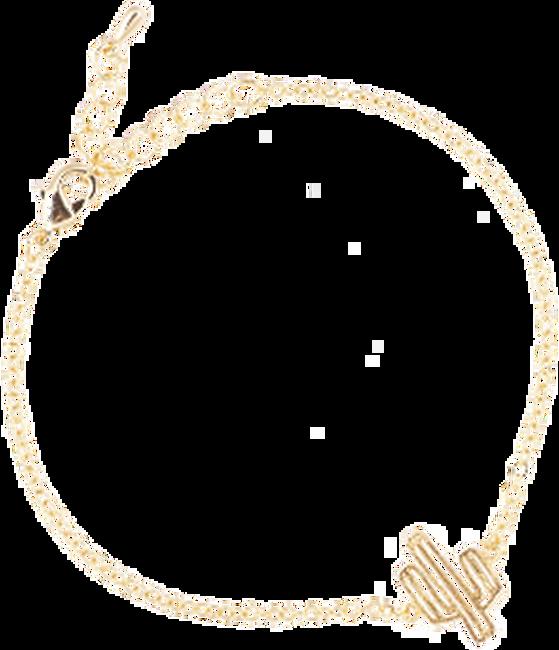 Gouden ALLTHELUCKINTHEWORLD Armband ELEMENTS BRACELET CACTUS - large