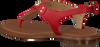 Rode MICHAEL KORS Sandalen MK PLATE THONG  - small