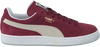 Rode PUMA Sneakers SUEDE CLASSIC+ DAMES  - small