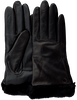 Zwarte UGG Handschoenen CLASSIC LEATHER SMART GLOVE - small