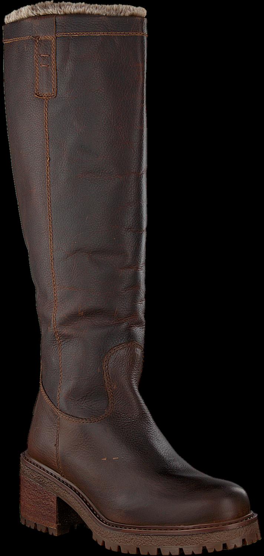 Bruine VERTON Hoge laarzen AMSTERDAM | Omoda