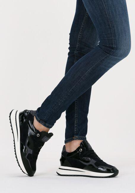 Zwarte FLORIS VAN BOMMEL Lage sneakers 85351  - large